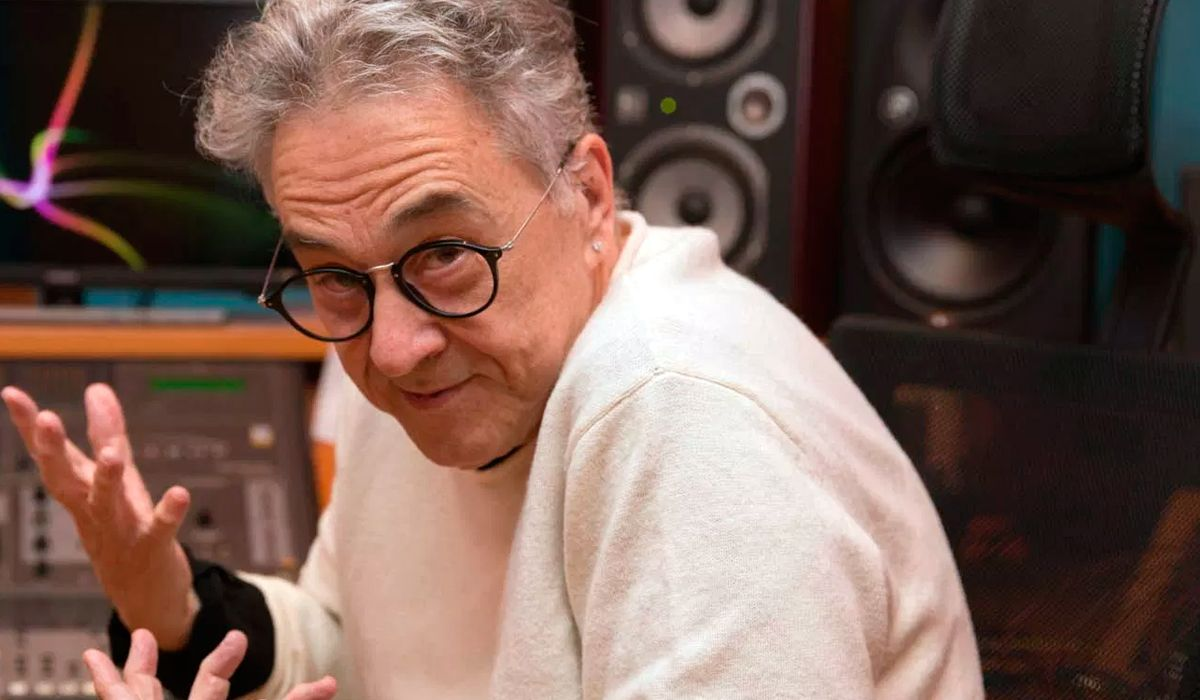 El rockero hizo un comentario misógino al aire (foto: silencio.com.ar)