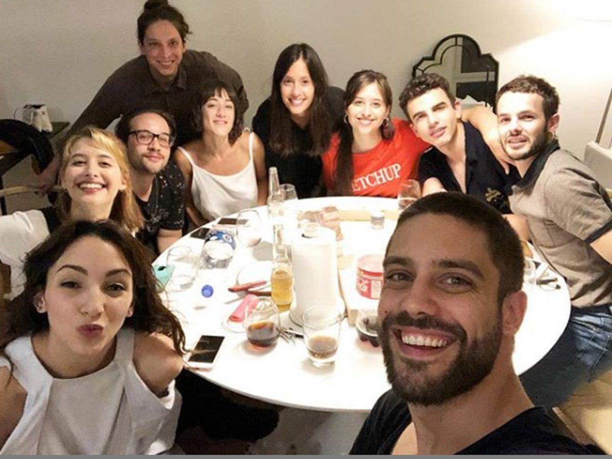 Los actores de Patito feo se juntaron para apoyar a Thelma Fardin