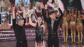 Sofía Morandini y Julián Serrano ganaron el Bailando - Crédito:  Laflia/Jorge Luengo
