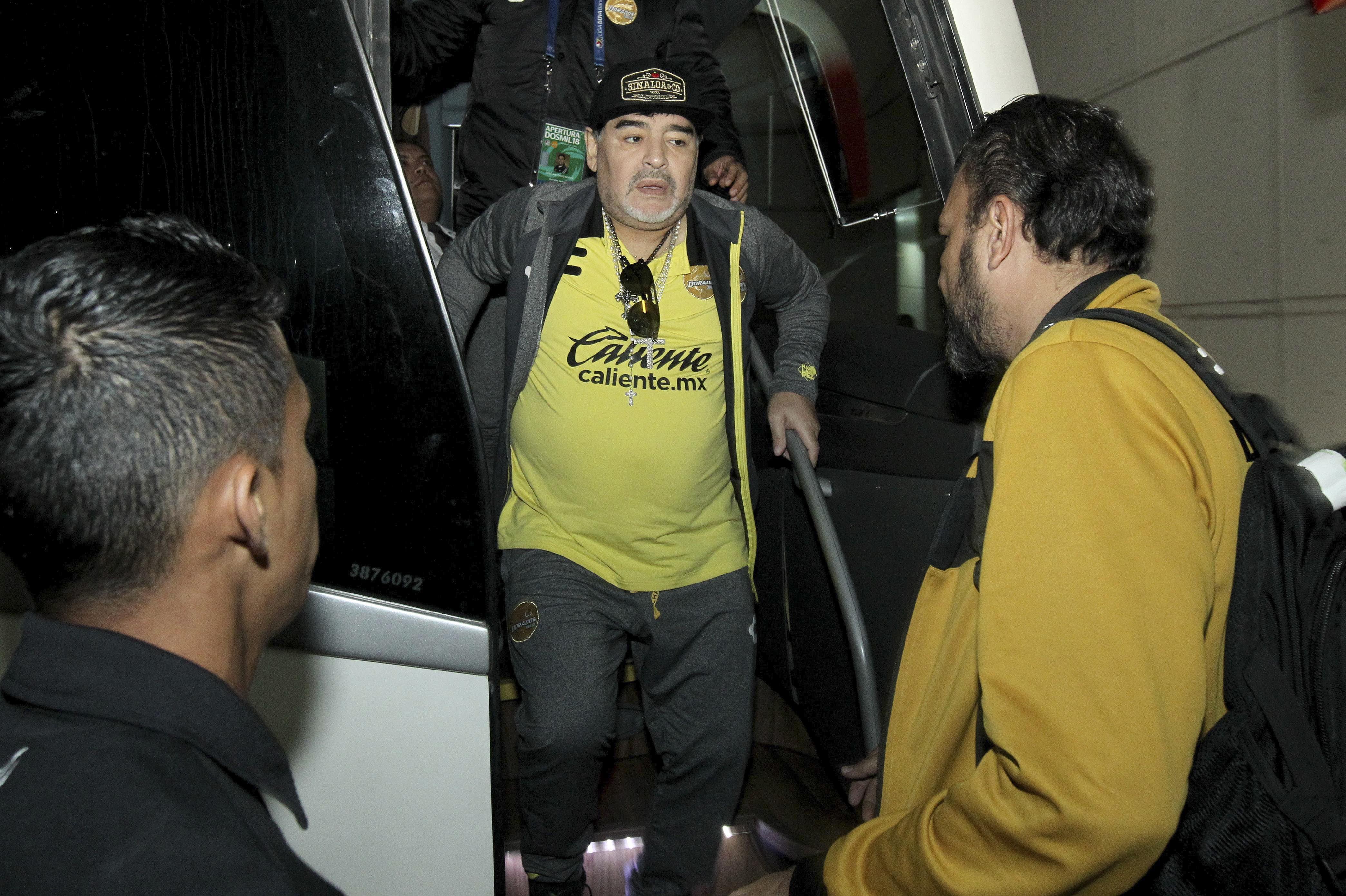 Diego Maradona volverá a dirigir a Dorados de Sinaloa