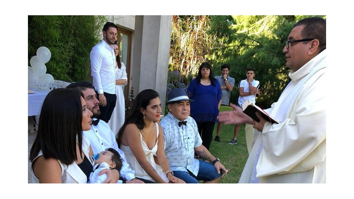 Un momento emocionante de la ceremonia