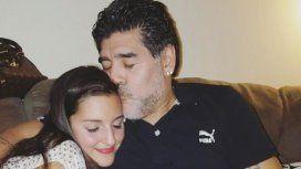 Jana y Diego Armando Maradona