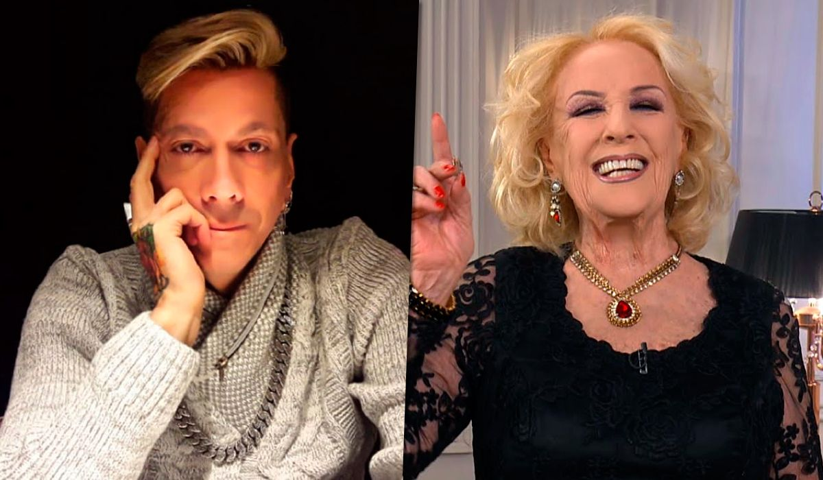 Roberto Piazza y Mirtha Legrand