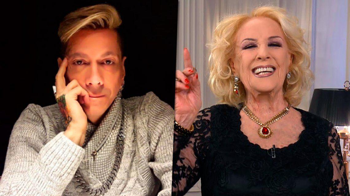 Roberto Piazza y Mirtha Legrand