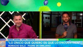 El desubicado furcio durante un móvil en la casa de la familia de Emiliano Sala