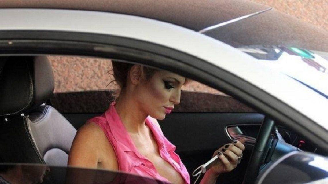 Victoria Xipolitakis guardaba su auto en el Hotel Las Naciones