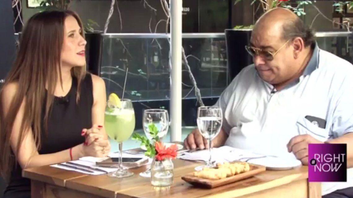 Julieta Camaño y Roly Serrano