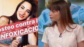 Infoxicación: polémica entre Romina Pereiro y Magui Bravi