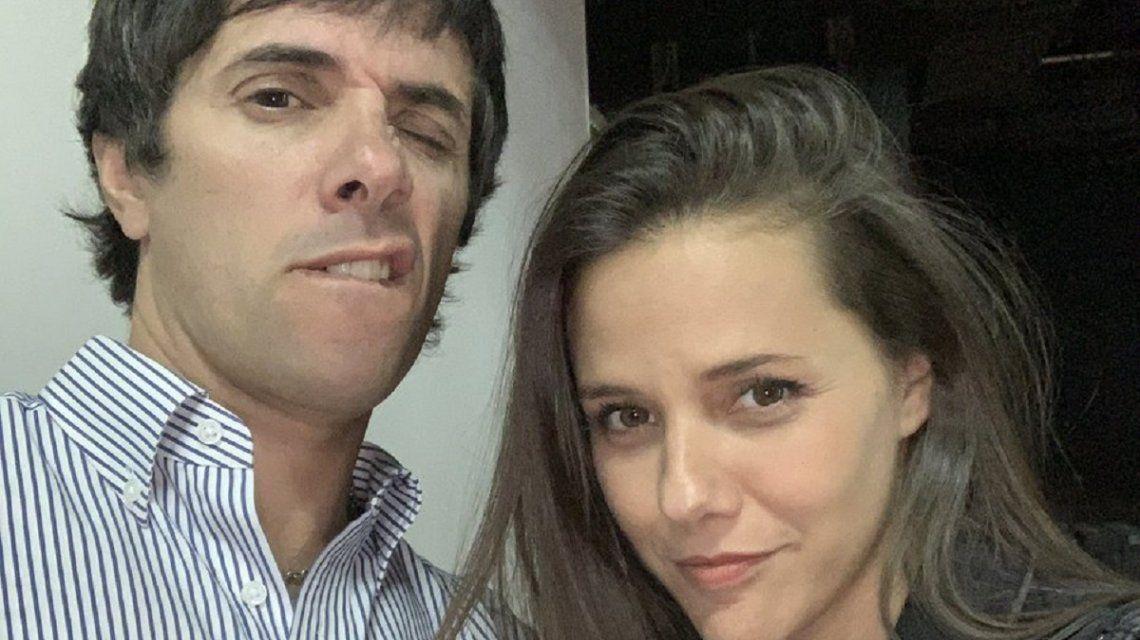 Roberto Funes Ugarte y Luciana Rubinska
