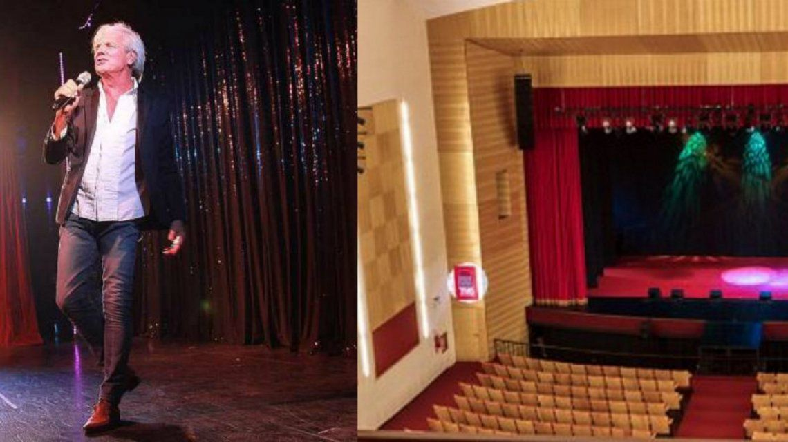 Clausuraron el teatro Mercedes Sosa donde se accidentó Sergio Denis