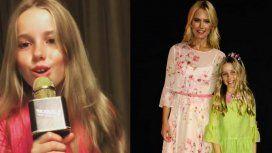 Valeria Mazza, orgullosa de su hija: ¿será una futura cantante?
