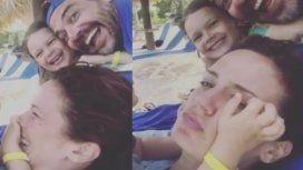 El álbum de las vacaciones de Pedro Alfonso y Paula Chaves con sus hijos