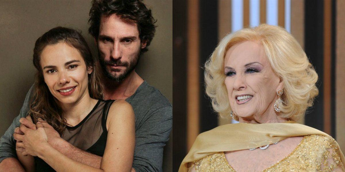Mirtha Legrand, sorprendida por la nueva paternidad de Gonzalo Valenzuela