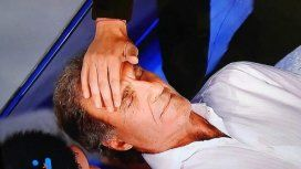 Oscar Ruggeri fue hipnotizado