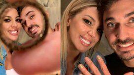 Virginia Gallardo anunció su casamiento con Martín Rojas