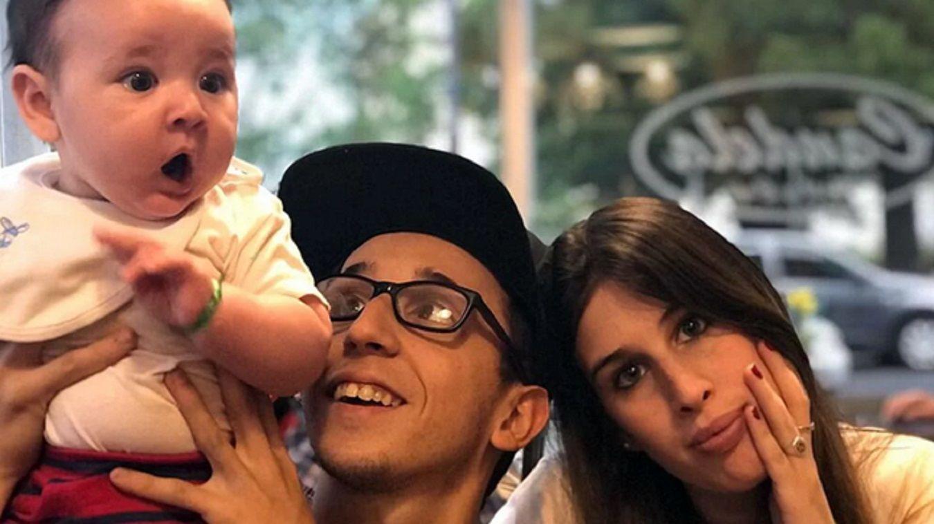 Rodrigo Noya y una ¿provocación? hacia su ex mujer por un posteo con su hijo