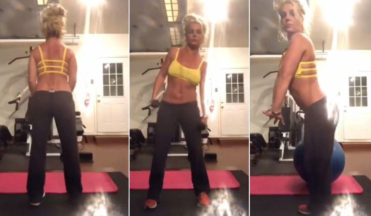 Tras su salida del centro de salud mental, Britney Spears se grabó entrenando