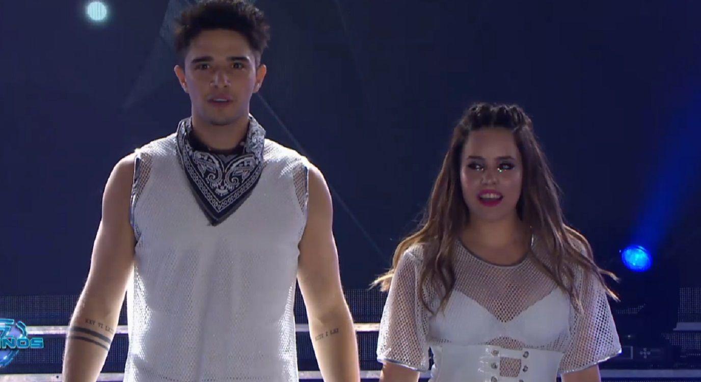 ShowMatch 2019: así fue la participación de Julián Serrano y Sofía Morandi en la apertura