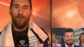 El saludo de Messi a Tinelli por los 30 años de ShowMatch: Ojalá nos veamos donde ya sabés