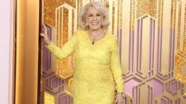 Mirtha Legrand se recupera favorablemente. Foto: @mirthalegrand