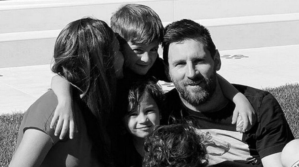 Lionel Messi y Antonela Roccuzzo festejaron el Día de la Madre en España