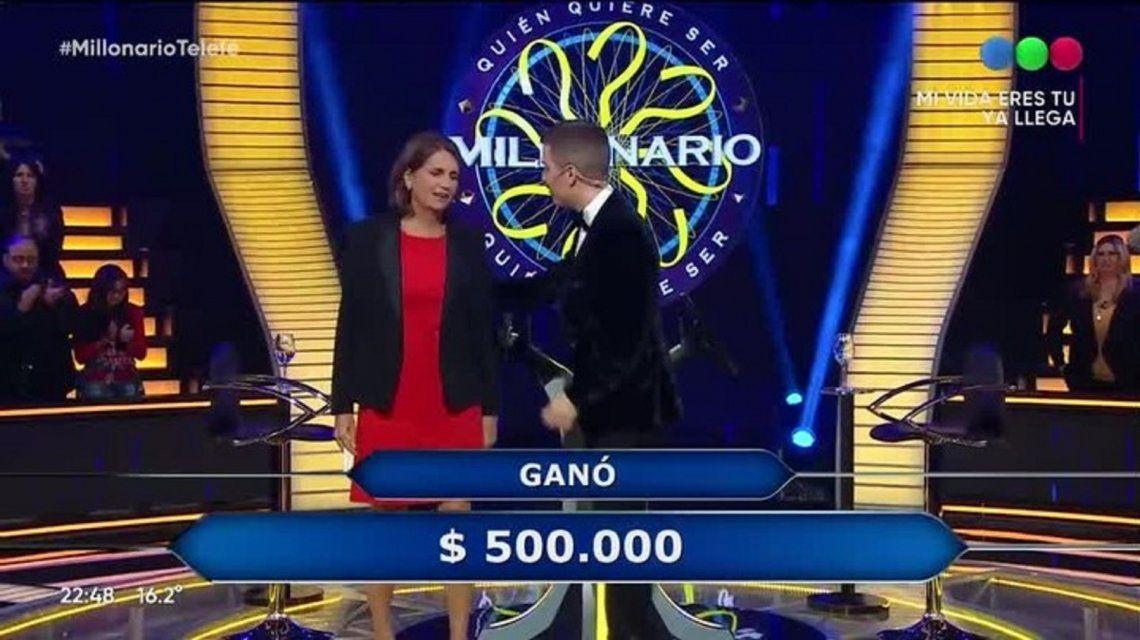 La científicaMarina Simian ganó medio millón de pesos