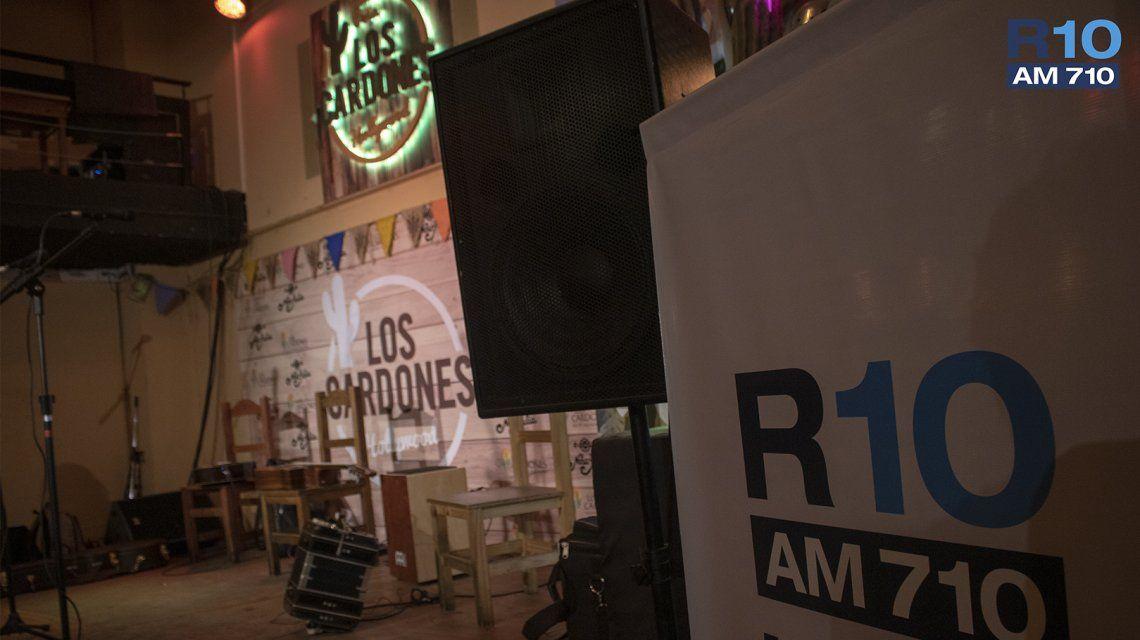 El acústico de Destino San Javier para Radio 10