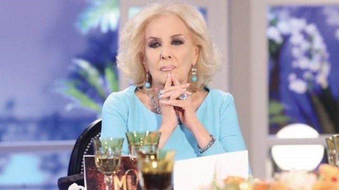 Los difíciles momentos que obligaron a Mirtha Legrand a cancelar su programa