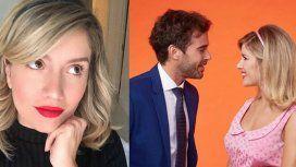 El romántico posteo de Laurita Fernández espiando a Nico Cabré