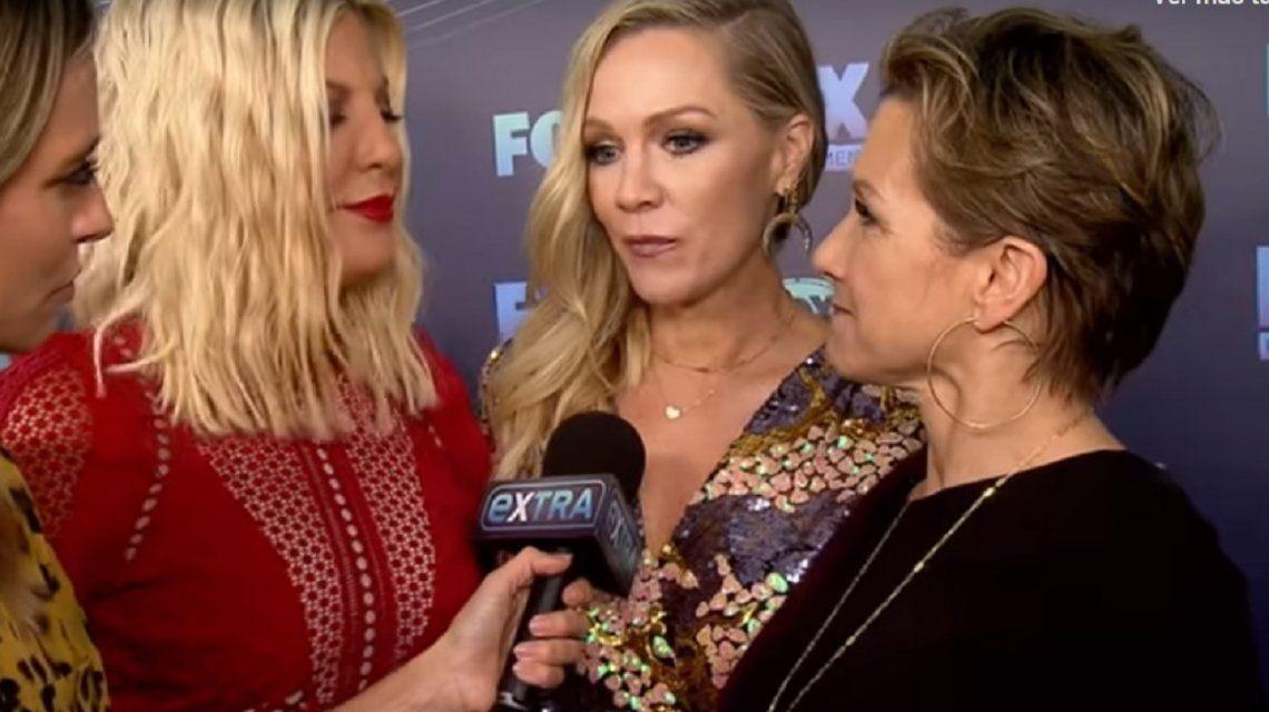El recuerdo de los actores de Beverly Hills a Luke Perry en el lanzamiento de la nueva serie