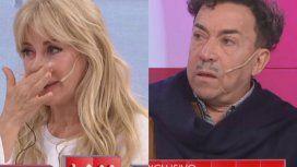 Graciela Alfano le pidió perdón a Aníbal Pachano llorando pero él la rechazó