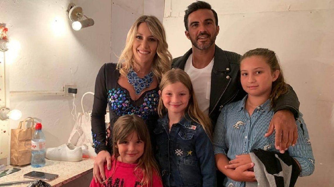 Fabián Cubero contó cómo definen el rol de Mica Viciconte con sus hijas: Preferimos usar el término buena compañera