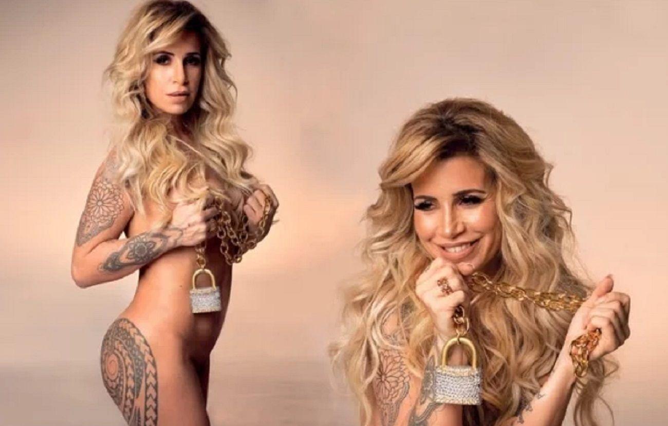 Flor Peña posó desnuda para una entrevista hot: Soy auto-sexual, me atraigo a mí misma