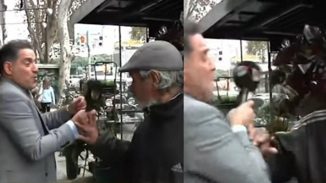 El florista que agredió a Iúdica contó que fue boxeador: Cuando lo encuentre lo muelo