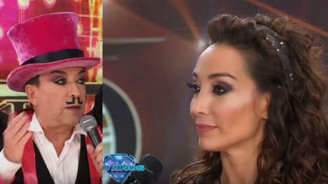Mora Godoy, a punto de renunciar por una escandalosa pelea con Pachano en el Súper Bailando