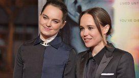 La romántica foto de Ellen Page junto a su mujer besándose para celebrar el mes del orgullo LGBT