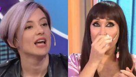 Moria Casán a Malena Pichot: ¿Tenés canas o te sometés a la tortura de teñirte como todas las sometidas?