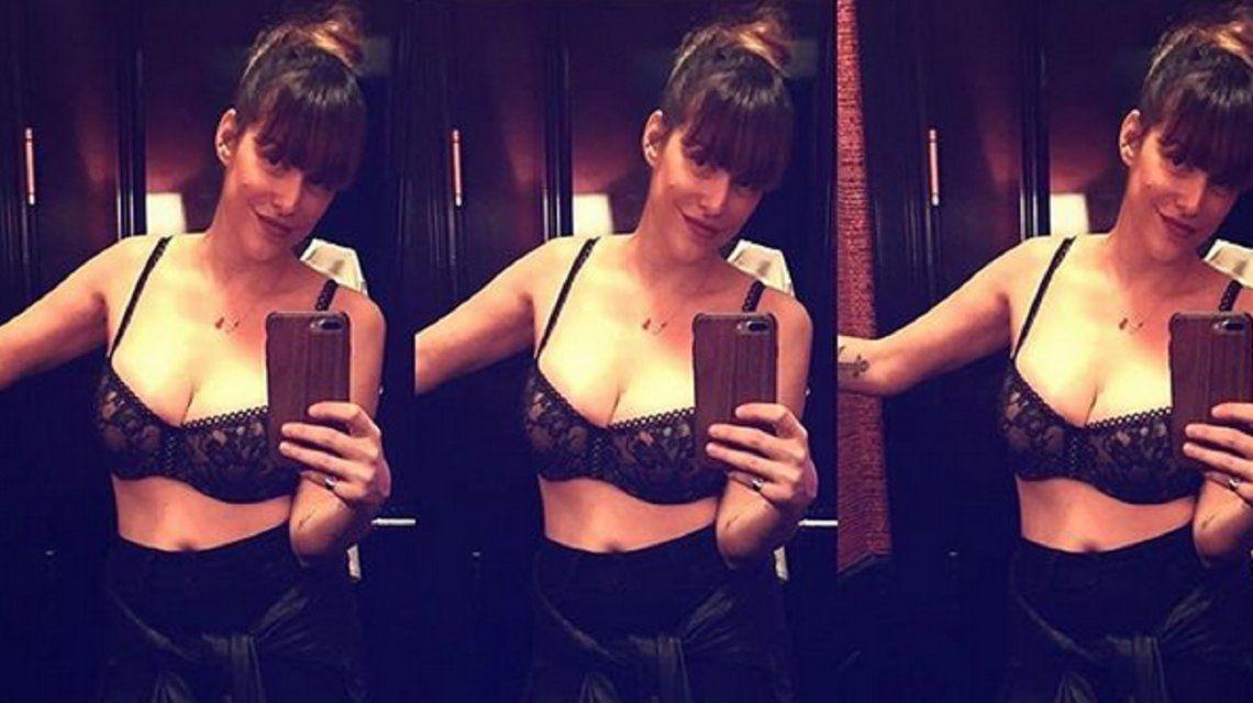 Connie Ansaldi se sacó una foto desnuda en la ducha: los comentarios de Jimena Barón y Karina Jelinek