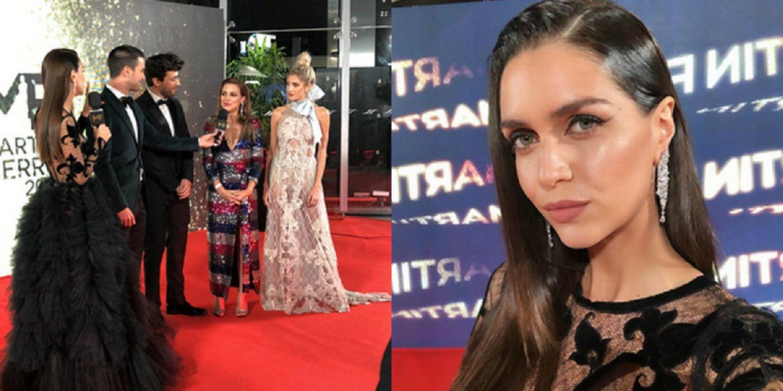 Mucha transparencia: los osados vestidos de Zaira Nara, Agustina Casanova y Cande Ruggeri en los Martín Fierro 2019