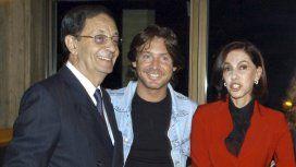 Guillermo Bredeston, acá con Adrián Suar y su mujer Nora Cárpena, fue uno de los olvidados