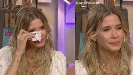 Guillermina Valdés lloró luego de un mensaje de amor de Marcelo Tinelli