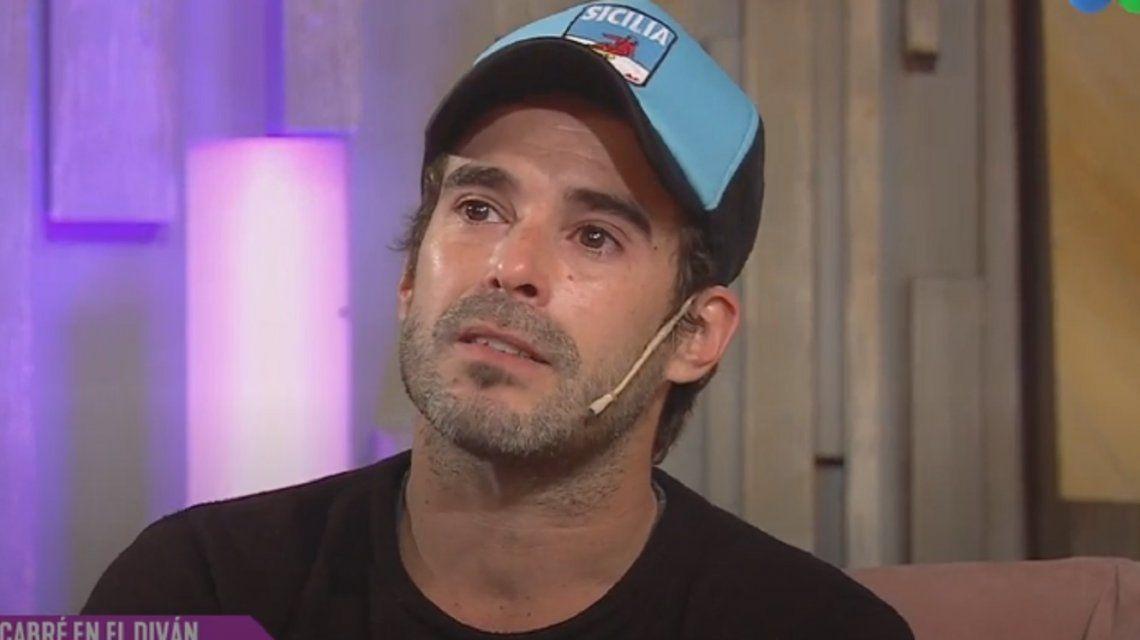 Nicolás Cabré, al borde del llanto al recordar la muerte de su padre: Estaba yendo a verlo y murió en la ambulancia