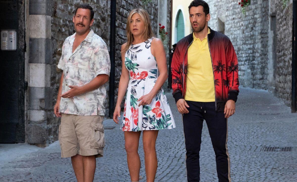 La dupla más esperada está de vuelta: Adam Sandler y Jennifer Aniston, juntos en Misterio a bordo