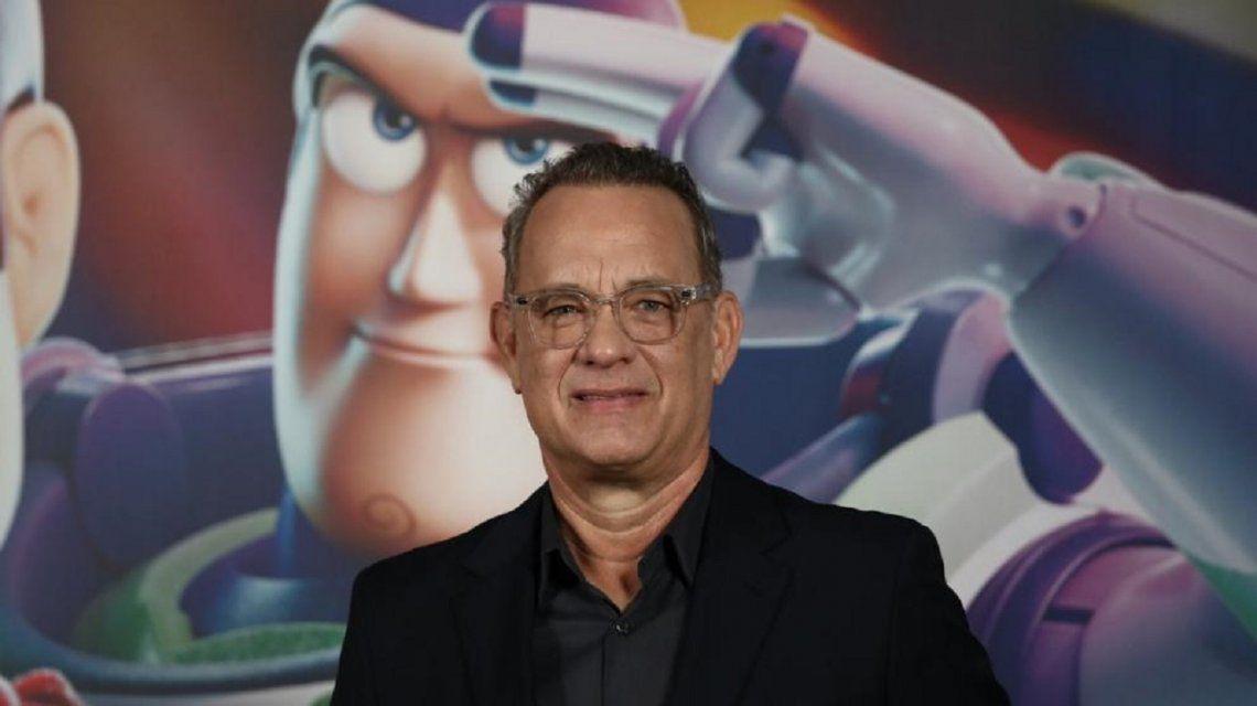 Tom Hanks bromeó sobre sí mismo en una rueda de prensa de Toy Story por su estreno mundial