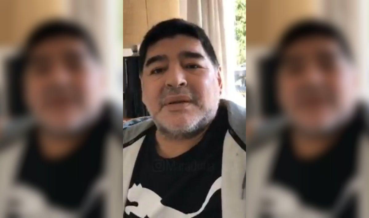 Habló Diego Maradona: Yo no me estoy muriendo