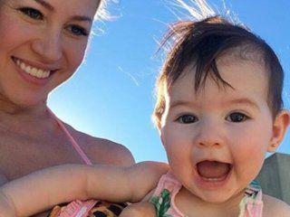 adabel guerrero compartio un video de su hija y en las redes la liquidaron