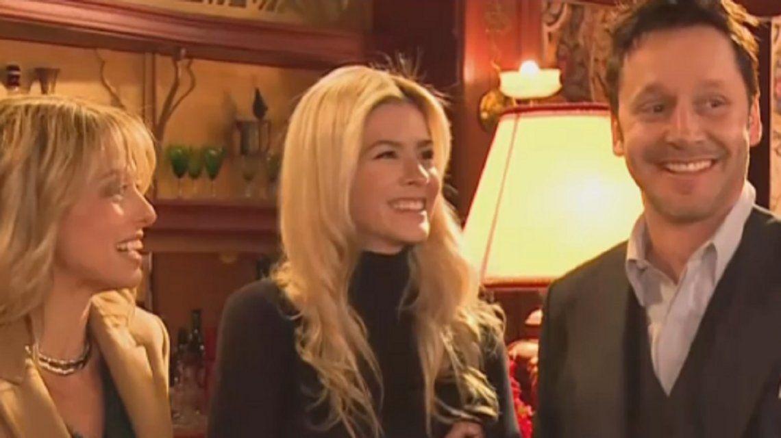 La divertida entrevista de la China Suárez y Benjamín Vicuña en el set de ATAV