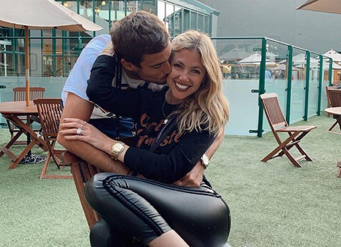 Mensajes de amor entre Stephanie Demmer y Guido Pella tras el triunfo en Wimbledon