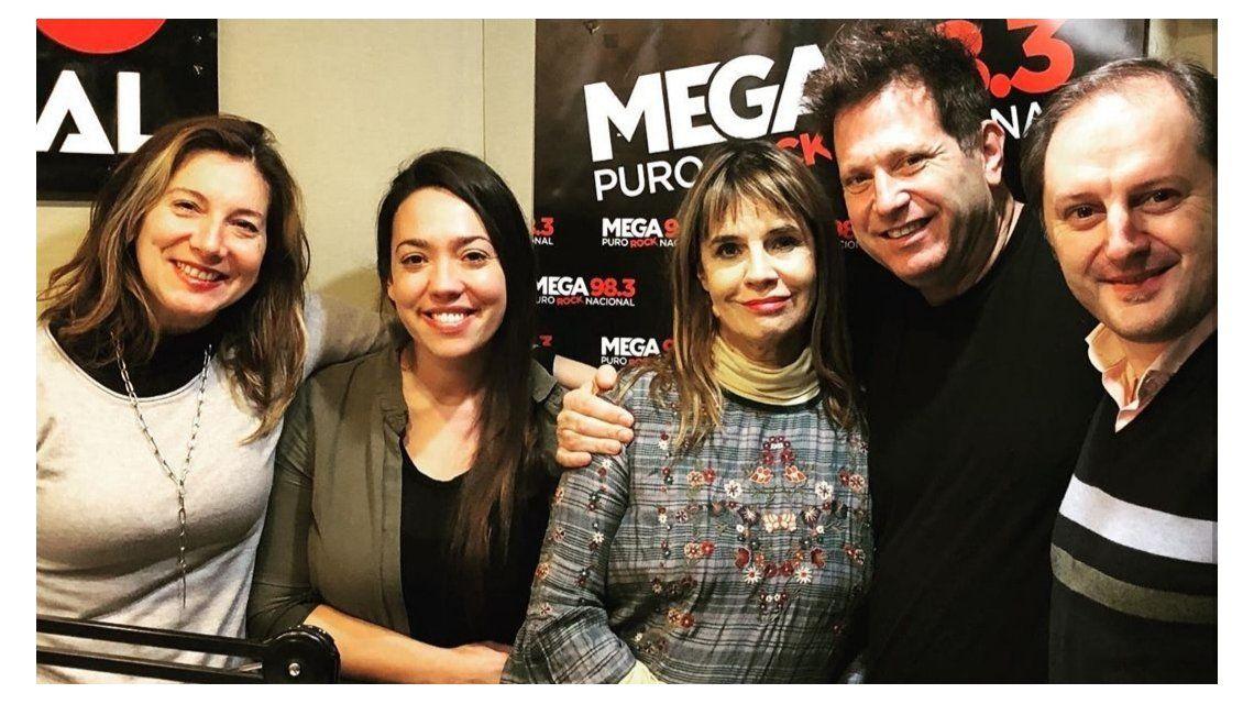 Fabiana Cantilo visitó Todo lo demás también en Mega 98.3