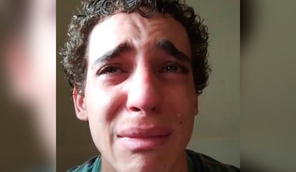 Miguel Herrán, Río en La casa de papel, apareció llorando en un video